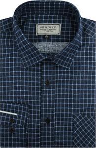 Koszula Pradizo z tkaniny z długim rękawem