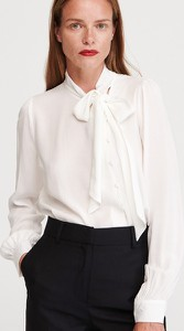 Bluzka Reserved ze sznurowanym dekoltem