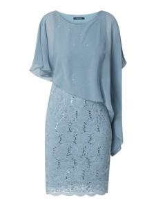 Sukienka Swing mini asymetryczna z krótkim rękawem