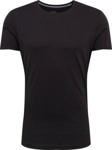 Czarny t-shirt edc by Esprit z krótkim rękawem