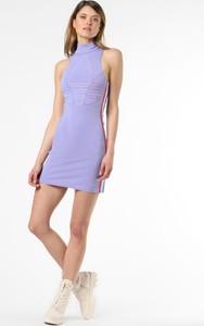Sukienka Adidas Originals z dżerseju w sportowym stylu mini