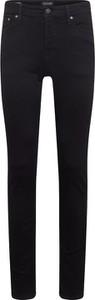 Czarne jeansy Jack & Jones z jeansu