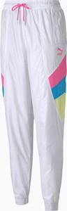 Spodnie sportowe Puma w sportowym stylu z dresówki