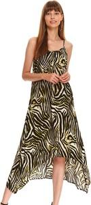 Sukienka Top Secret maxi na ramiączkach