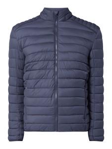 Niebieska kurtka Montego w stylu casual