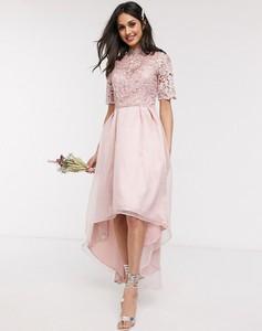 Złota sukienka Chi Chi London