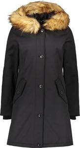 Czarny płaszcz Marc O'Polo