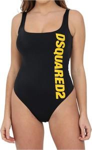 Czarny strój kąpielowy Dsquared2