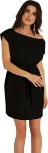 Czarna sukienka Ivon mini