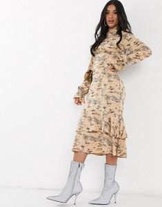 Sukienka NA-KD z długim rękawem