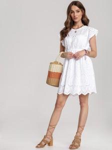 Sukienka Renee w stylu boho z krótkim rękawem