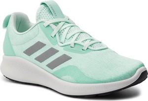 Buty sportowe Adidas z płaską podeszwą w sportowym stylu sznurowane