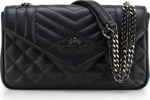 Czarna torebka Wittchen średnia