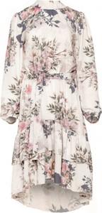 Sukienka Fobya z tkaniny asymetryczna