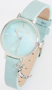 Mohito - Zegarek na pasku z imitacji skóry - Niebieski