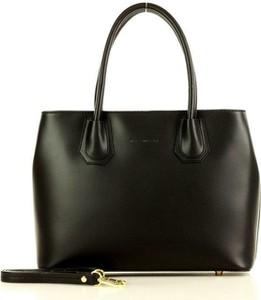 Czarna torebka Merg do ręki