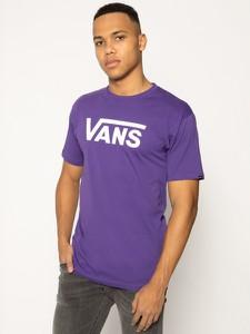 Fioletowy t-shirt Vans z krótkim rękawem