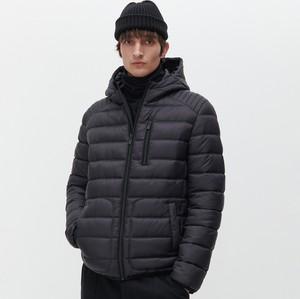 Czarna kurtka Reserved w młodzieżowym stylu krótka