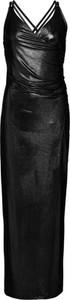 Sukienka bonprix BODYFLIRT boutique z dekoltem w kształcie litery v w stylu glamour