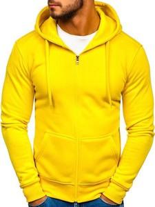 Żółta bluza Denley z bawełny