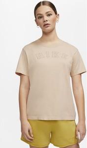 T-shirt Nike z krótkim rękawem w sportowym stylu z okrągłym dekoltem