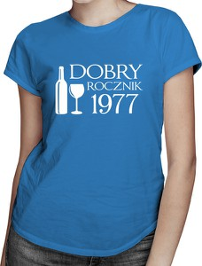 Niebieski t-shirt Koszulkowy z krótkim rękawem z bawełny