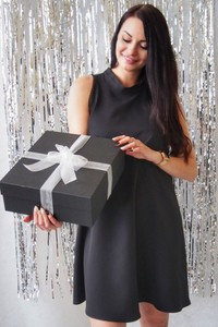 Sukienka butik-choice.pl bez rękawów trapezowa mini