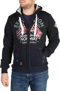 Czarna bluza Geographical Norway w młodzieżowym stylu