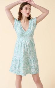 Sukienka ORSAY z bawełny mini na ramiączkach