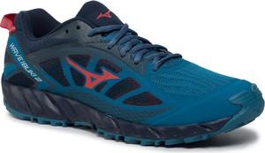 Niebieskie buty sportowe Mizuno