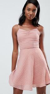 Pomarańczowa sukienka Glamorous na ramiączkach