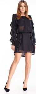Granatowa sukienka N/A mini