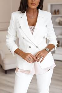fa86c2601d972 ... żakiet w paski czarno biały s-l. Marynarka Rose Boutique z bawełny