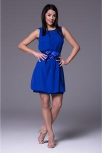 Sukienka Wox z satyny mini bombka