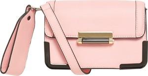 Różowa torebka Pieces średnia