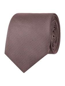 Granatowy krawat Jake*s z jedwabiu