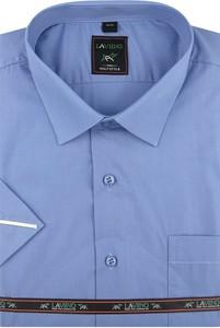 Koszula Laviino z krótkim rękawem z klasycznym kołnierzykiem