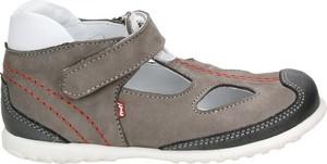 Brązowe buty dziecięce letnie EMEL