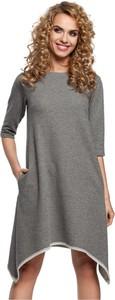 Sukienka MOE z bawełny w stylu casual