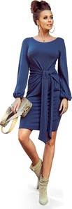 Sukienka NUMOCO w stylu casual z okrągłym dekoltem