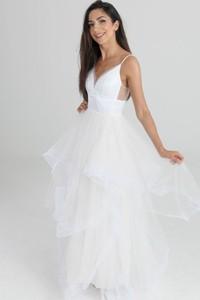 Sukienka Butik Ecru na ramiączkach