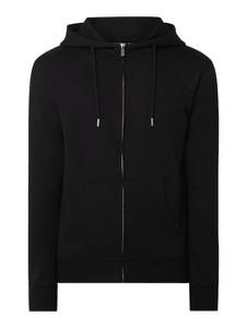 Czarna bluza Solid z bawełny