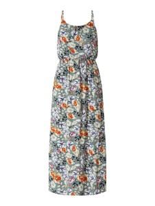 Miętowa sukienka Only maxi