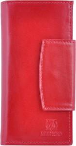 Czerwony portfel Marco