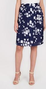 Niebieska spódnica QUIOSQUE mini w stylu casual