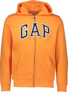 Pomarańczowa bluza Gap z bawełny