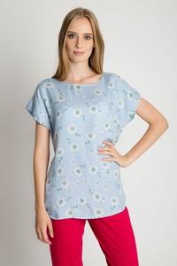 Niebieska bluzka Bialcon