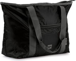 Czarna torba sportowa Spokey