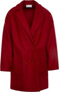Czerwony płaszcz Red Valentino w stylu casual