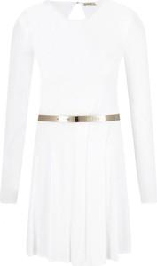 Sukienka Liu-Jo z okrągłym dekoltem mini